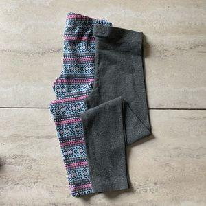 🌿Cat & Jack 6Y Girls Leggings Bundle of Two